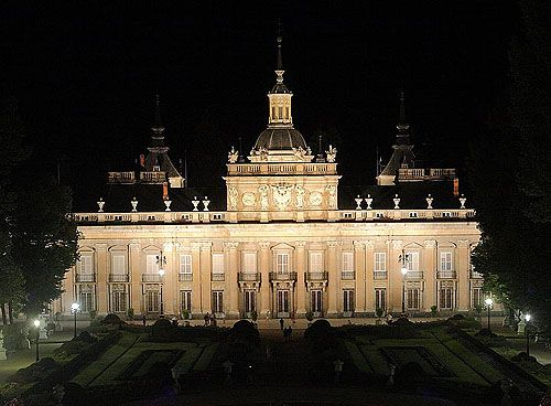 The Royal Palace of La Granja de San Ildefonso, San Ildefonso, near Segovia, Spain. - www.castlesandmanorhouses.com