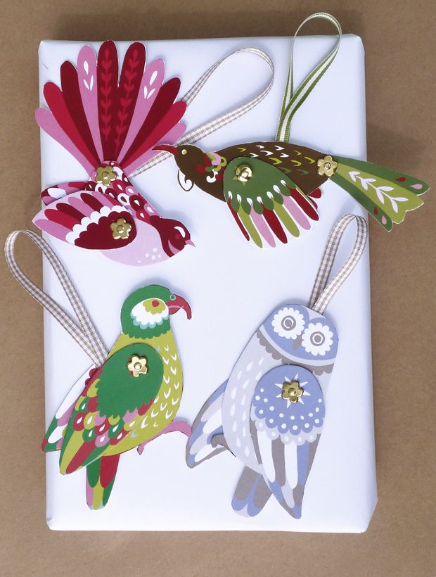 DIY CHRISTMAS ORNAMENTS | ... christmas range a new zealand birds diy christmas decorations and