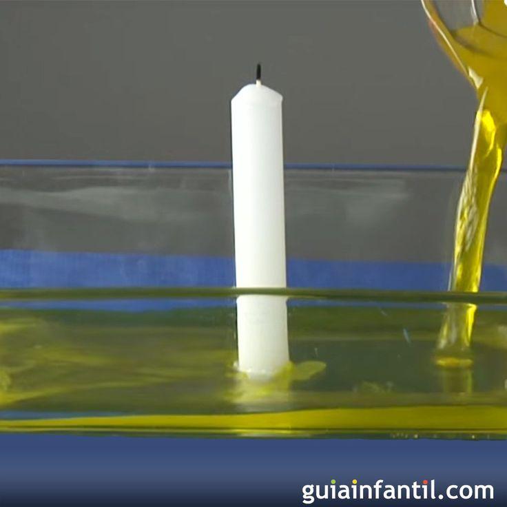 Cómo se puede subir el nivel del agua con una vela. ¿Te atreves a hacer este experimento con tus hijos? Descubre los secretos de la física y la ciencia con toda la familia. En Guiainfantil.com tenemos muchos experimentos para los niños en vídeos y paso a paso.