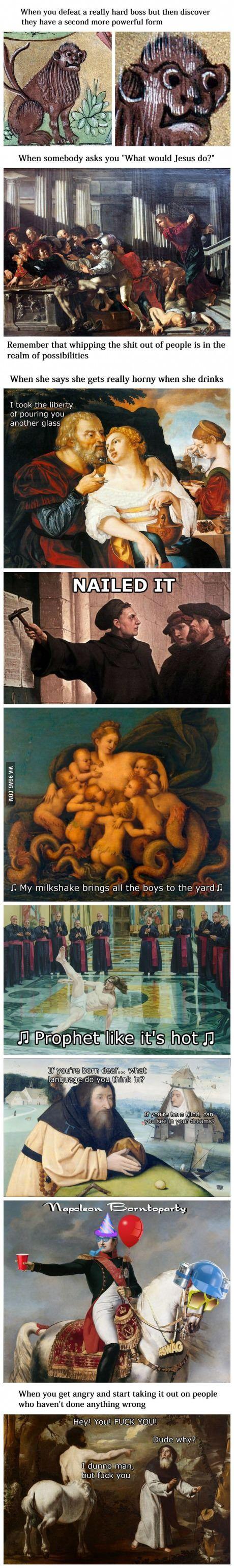 Classical Art Memes Latest (Part-4)