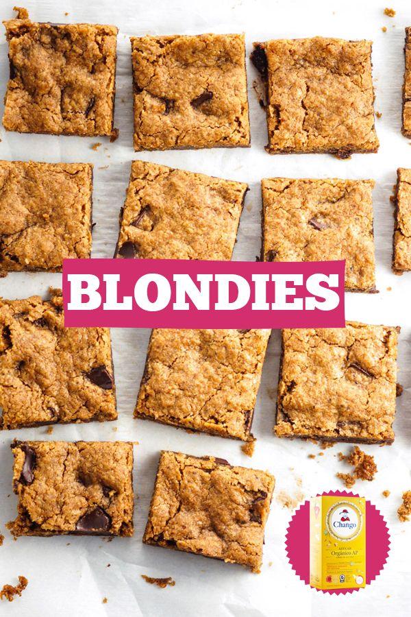 ¡Si te gustan los  #brownies, te encantarán los #blondies!   Encontrá la #receta en nuestro blog: http://buff.ly/2rIWf94  #Bakery #dessert #cake #sweet