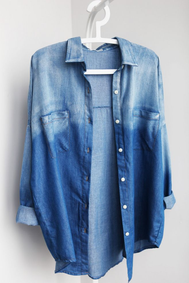 ombre chambray