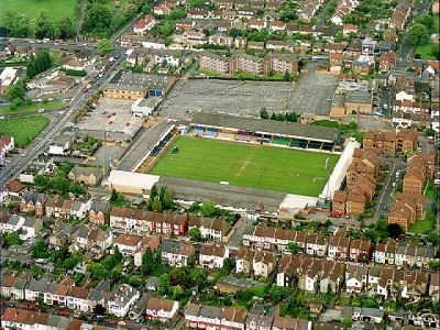 Roots Hall - Aerial -Southend United FC