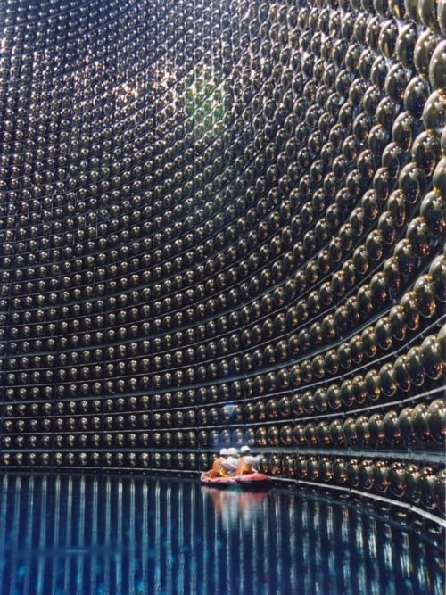 Super-Kamiokande: a neutrino observatory which is under Mount Kamioka, Gifu, Japan. The observatory was designed to search for proton decay, study solar and atmospheric neutrinos, and keep watch for supernovas in the Milky Way Galaxy.