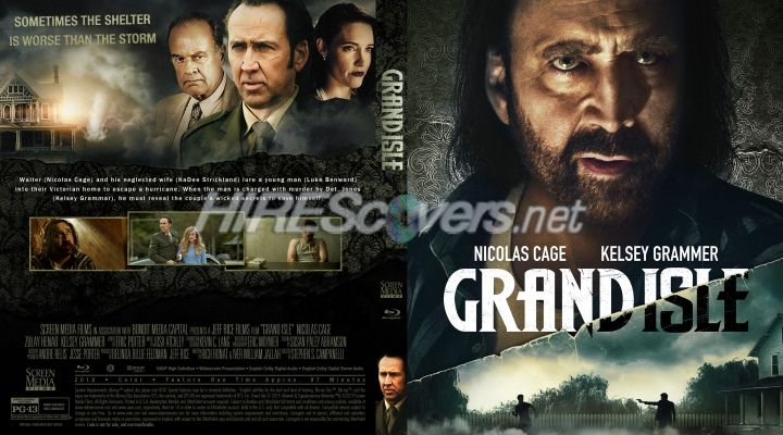 Grand Isle (2019) Custom Blu-ray Cover | Custom dvd, Movie covers, Dvd  covers