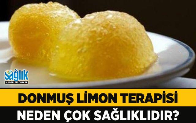 Donmuş Limon Terapisi Neden Çok Sağlıklıdır?Sayfamızda sıklıkla sabahları limonlu ılık su içmenin harika faydalarına değiniyoruz, ancak donmuş limonun da şifalı özellikleri olduğunu biliyor muydunuz? #limon