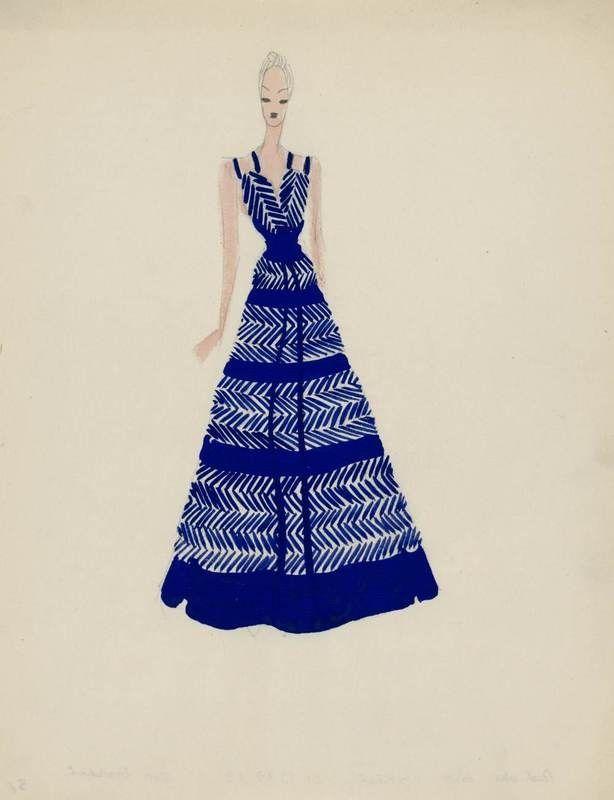 Création:  Madeleine Vionnet , maison de couture, 1938-1939 Madeleine Vionnet , couturier, 1938-1939