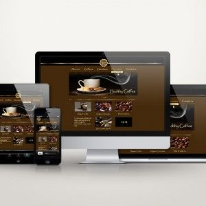 Beautiful responsive website layouts with a pinch of gold. That's my favorite...