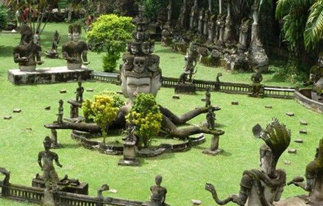 The Bizarre Xieng Khuan - Vientiane, Laos