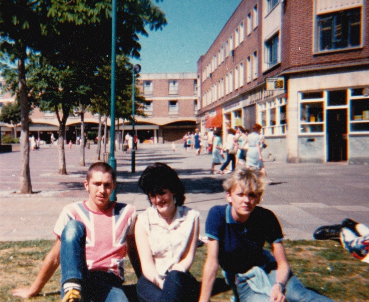 Skins in Billingham Town Centre 1984