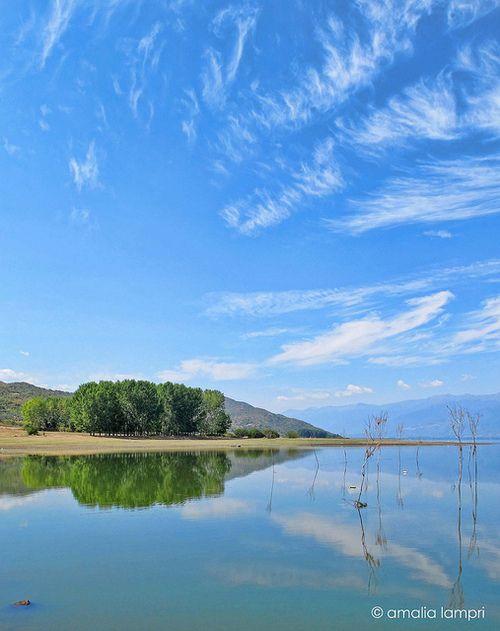 Kerkini Lake in Northern Greece