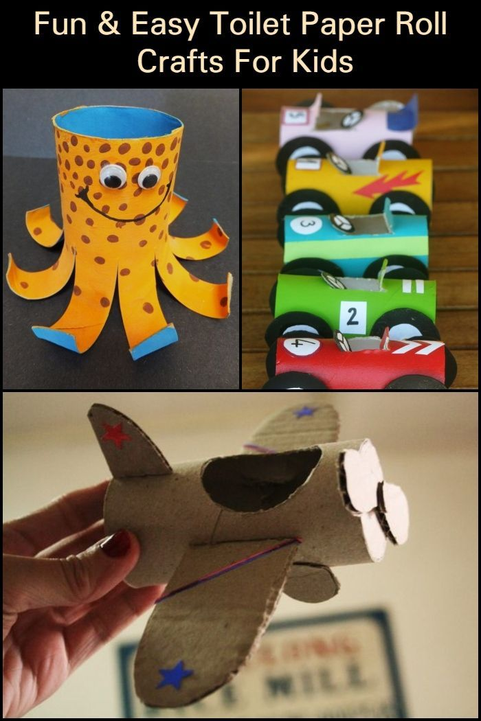 Creative Paper Roll Projects For Kids Craft Projects For Every Fan Crafts For Kids Craft Projects For Kids Paper Roll Crafts