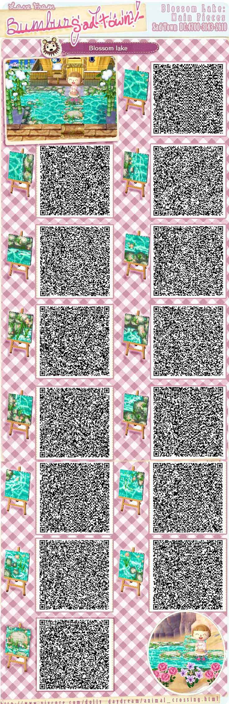 Animal Crossing Qr Codes Floor Stone
