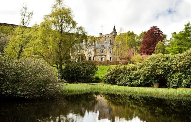 A Scottish Baronial mansion of imposing splendour
