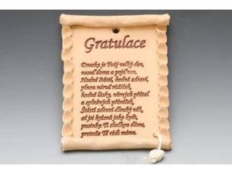 Pergamen-gratulace k narozeninám - větší obrázek