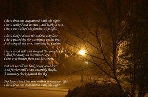 Literary anilisis essay robert frost aquainted