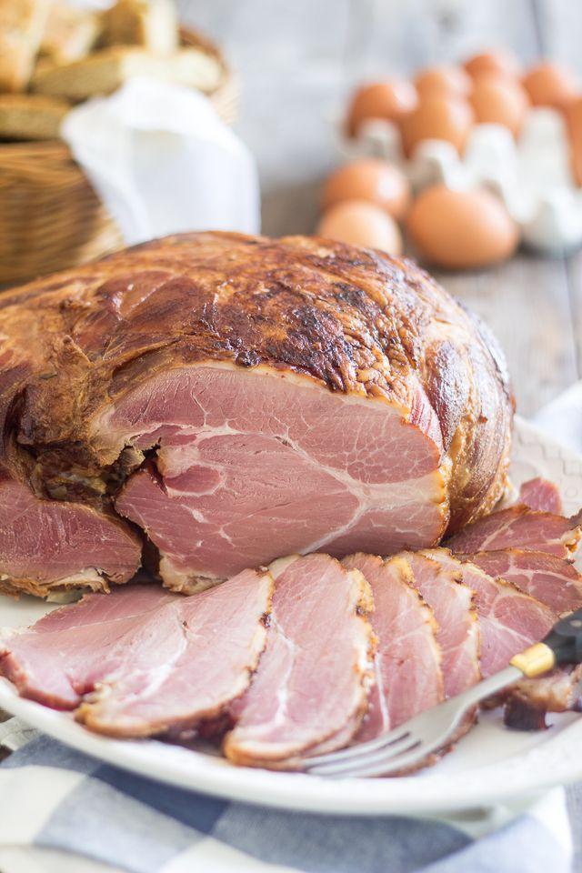 how to make a dry ham moist
