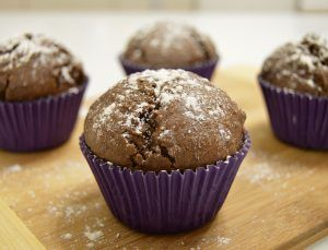 Шоколадные кексы — Кулинарный дневник лентяя