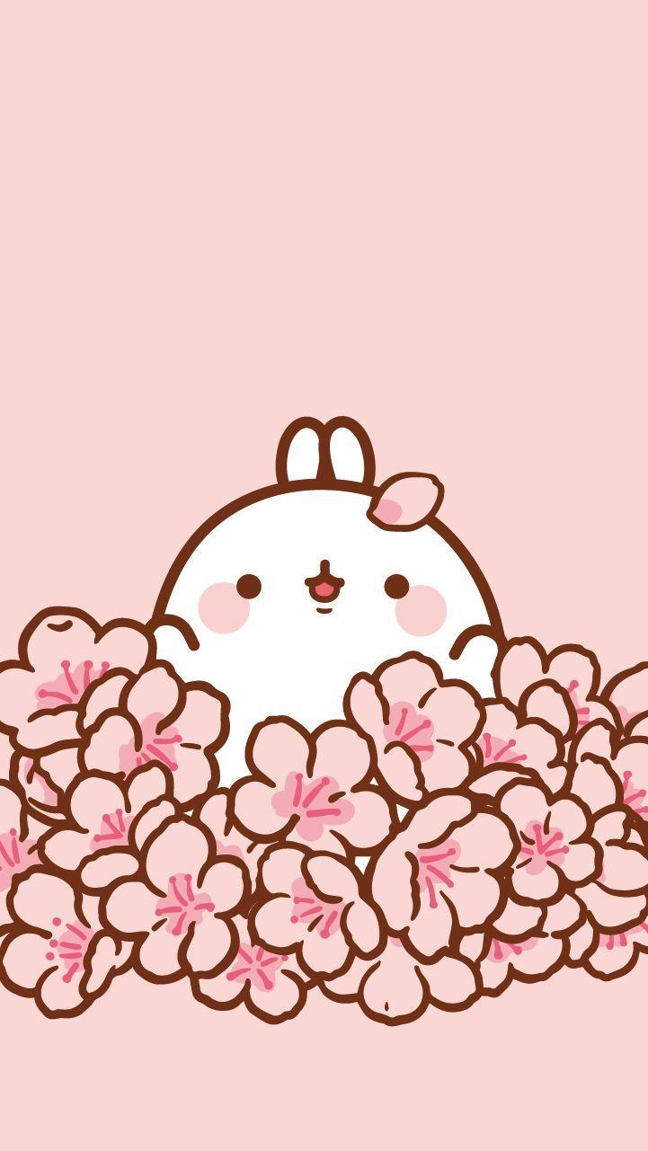 몰랑이 컬러링 [no.2 벚꽃]  네이버 블 , kawaii no2