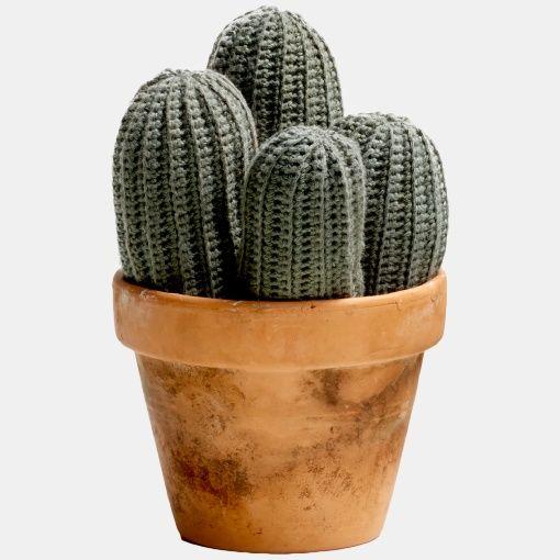 Kaktus - Heklet - STOFF & STIL