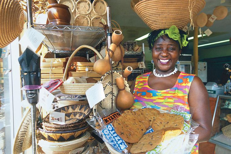 """Shopping on Historic Bardstown Road - 48 Hours in Louisville - Southernliving. Don't miss shopping on Bardstown Road, one of Louisville's premier streets for browsing and dining. Elizabeth Kizito, Louisville's beloved cookie lady, greets with a smile. Kizito Cookie's loyal customers choose from biscotti, brownies, muffins, and 10 different cookies, including our favorite, the """"Lucky in Kentucky"""". She also ships gift boxes, trays, and baskets."""