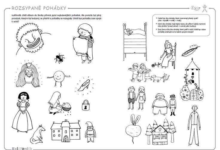 Pracovní sešity pro malé předškoláky - KuliFerdík | KuliFerda a jeho svět