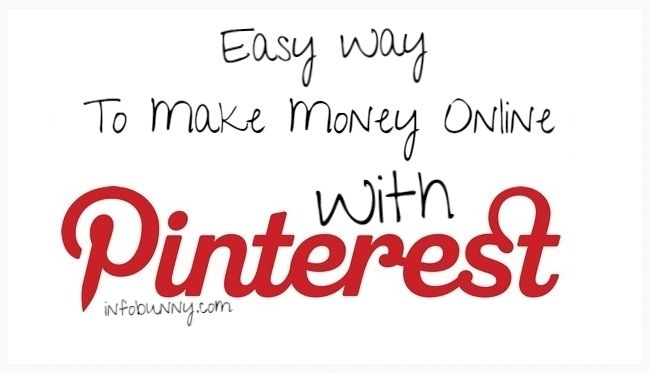 Easy Way To Make Money Online with Tsu and Pinterest