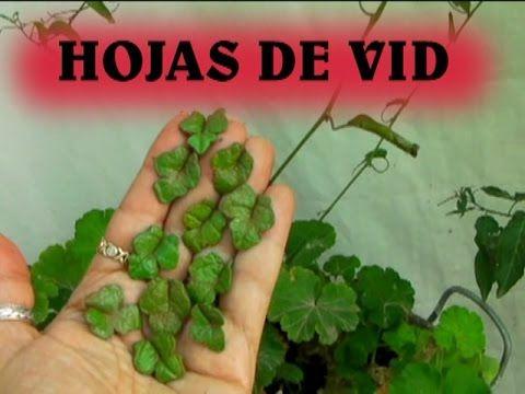 Como hacer hojas para parra o vid - YouTube                                                                                                                                                                                 Más
