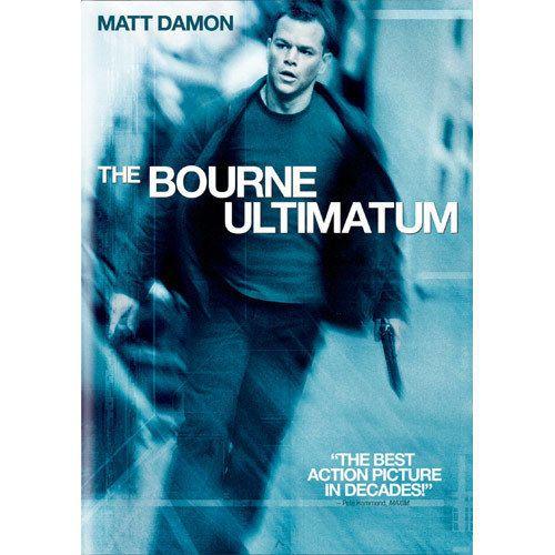 The Bourne Ultimatum Widescreen Edition, Matt Damon, Jason Bourne Series
