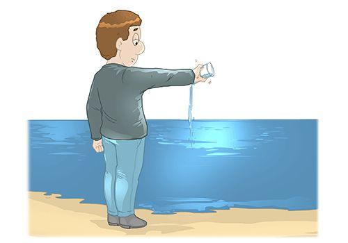 Dat is water naar de zee dragen.
