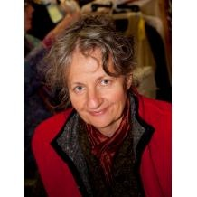 Denise Aspinall of Aspinall Pottery, Canning, Nova Scotia