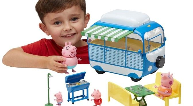 Peppa Pig Holiday Deluxe Camper-van Play Set