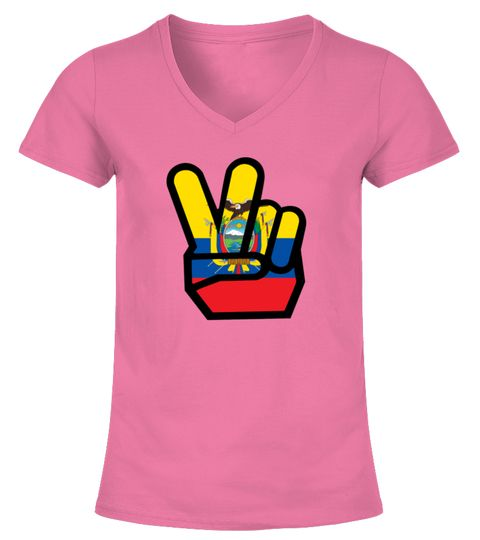 ECUADOR flag winning finger Shirt