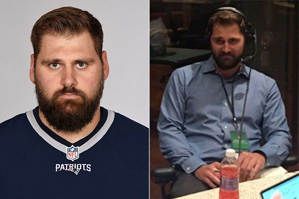 Ex-Patriots OL Sebastian Vollmer has dropped 75 pounds since retiring