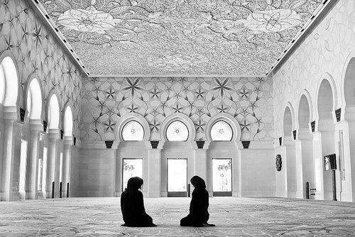 A woman. . One of the most beautiful creations of ALLAH... You can feel her innocence in form of a DAUGHTER. You can feel her care in form of a SISTER. You can feel her warmth in form of a FRIEND. You can feel her passion in form of a BELOVED. You can feel her dedication in form of a WIFE. You can see her love and sacrifice in form of a MOTHER. The prophet (peace be upon him) said: 'Be kind to women.'(al-Bukhaari, 3153; Muslim, 1468)