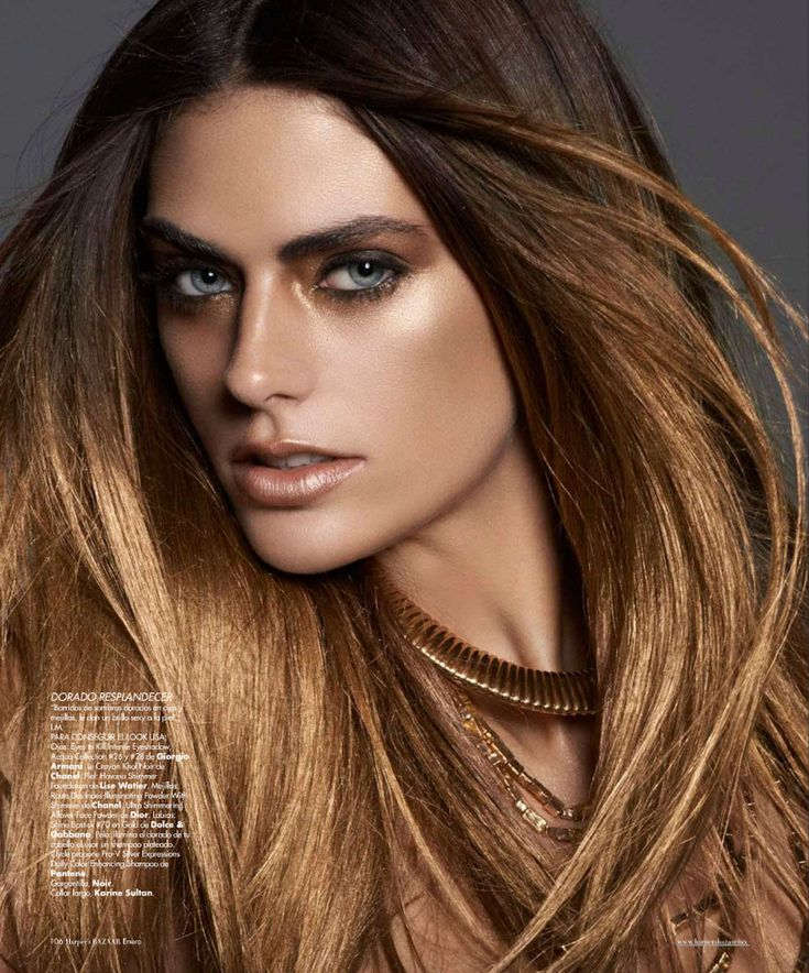 GOLD - Alyson Le Borges by Darren Tieste for Harper's Bazaar Mexico January 2013