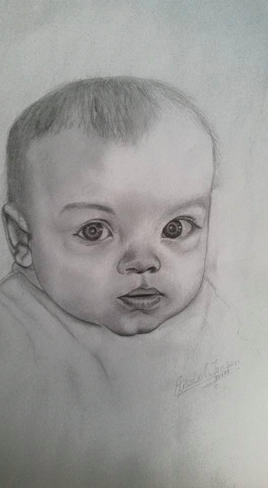 Baby, toddler, cute, barn, søt