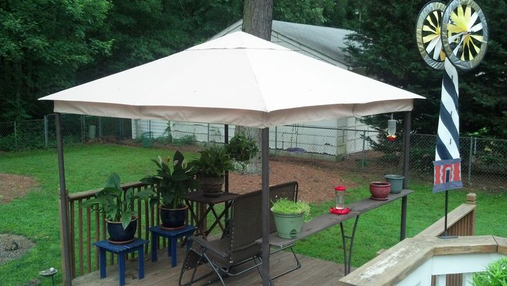 Kohl's Sonoma Outdoors 2010 Gazebo Replacement Canopy Garden Winds