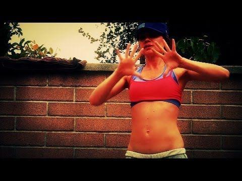 12 min Backyard Ghetto Workout Burpee HIIT Interval Training - YouTube