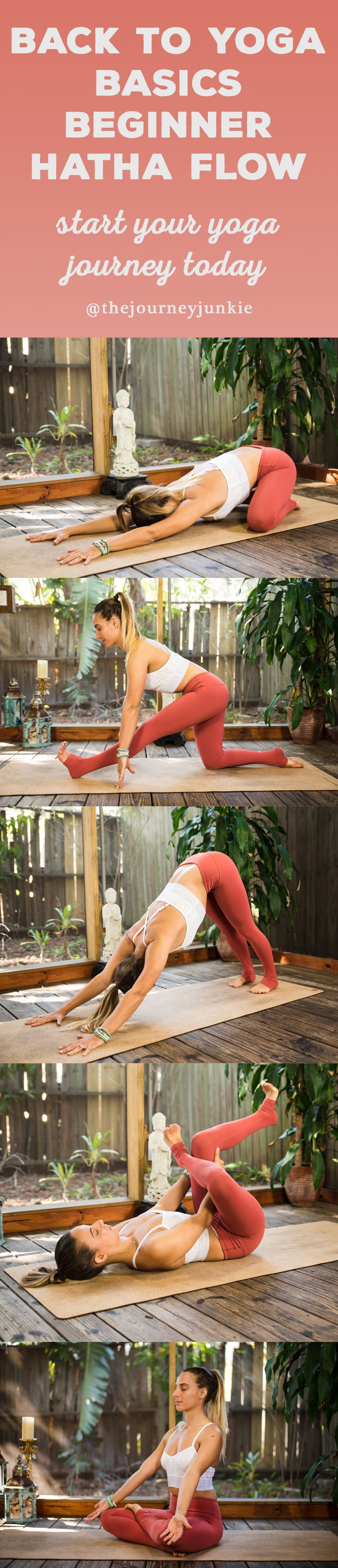 Calling all beginner yogis + yogis who need a refresh! Welcome to your beginner hatha yoga flow to learn the basics, cultivate breath, and create movement!