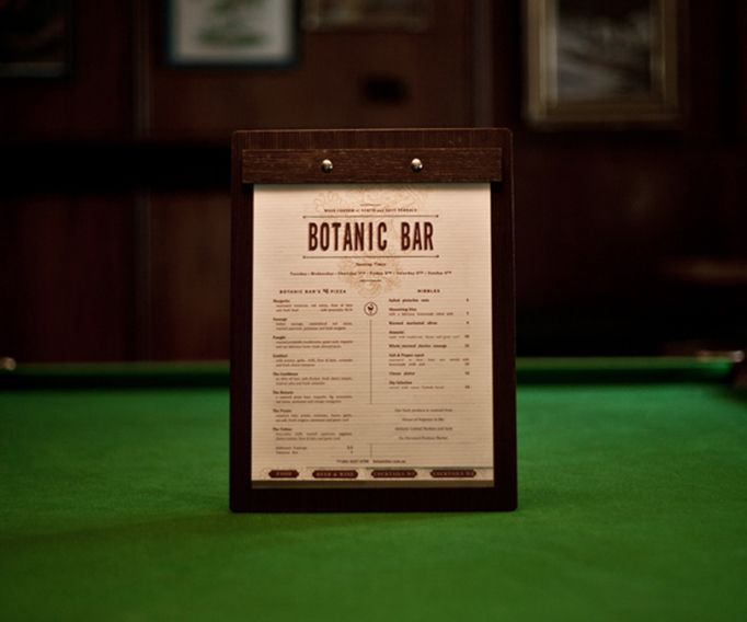 Botanic Bar, screw pots and side tabs for easy viewing