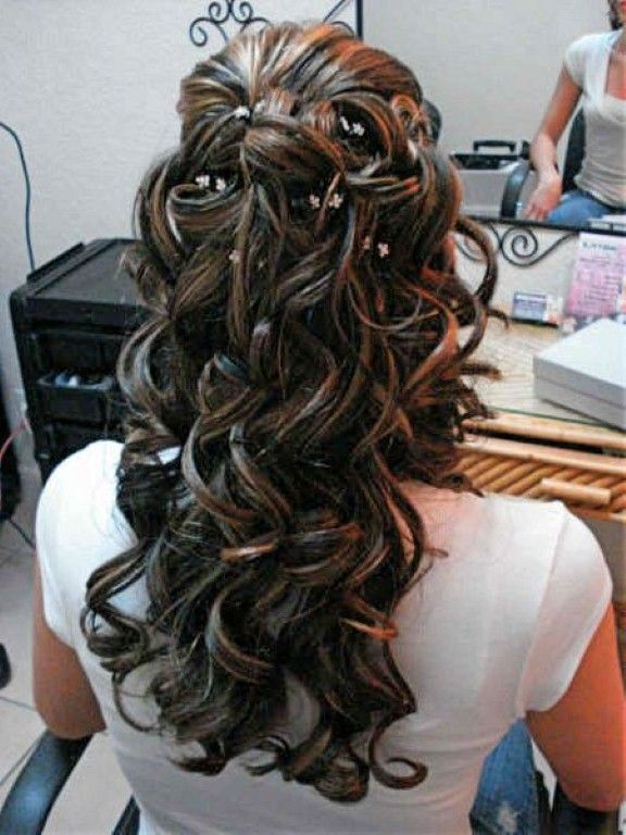 Enjoyable 17 Best Ideas About Down Curly Hairstyles On Pinterest Hairstyles For Women Draintrainus