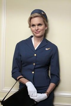 mad men shelly | Shelly the Stewardess (played by actress Sunny Mabrey) was the epitome ...