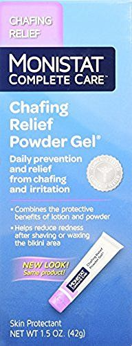 Monistat Soothing Care Chafing Relief Powder-Gel, 1.5-Ounce Tube, http://www.amazon.com/dp/B0012ZNSWE/ref=cm_sw_r_pi_awdm_x_l6k6xbNK18FK5