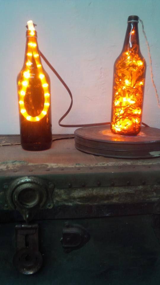 M s de 25 ideas fant sticas sobre luces de botellas de - Botellas con luces ...