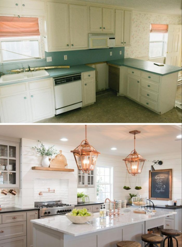 Kitchen update before and after, kitchen remodel ideas, kitchen remodel ideas that improve property value, fixer upper, kitchen renovations that improve home value