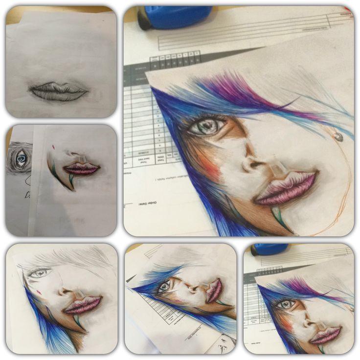 Drawing color colour sketch penciltopen illustration
