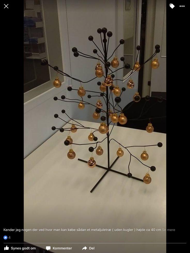 Juletræ metal