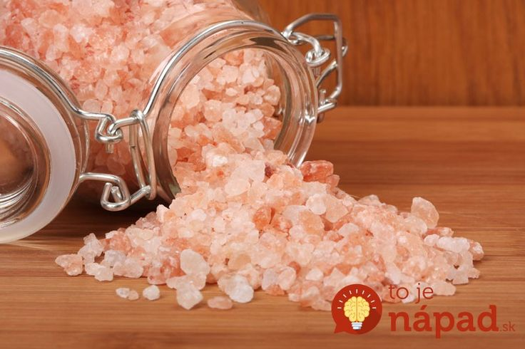 Prospěšnost himalájské soli a prostředek z ní na dobré usínání.