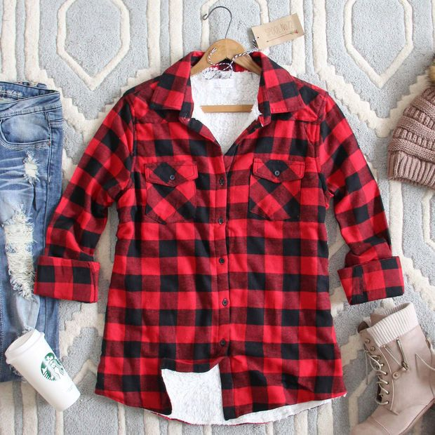 Ski Lodge Plaid Flannel